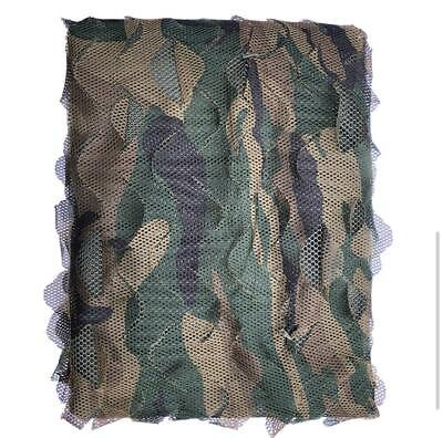 Camo Net Camouflage Netting Hunting/Shooting Hide Camping Woodland Netting • 20£