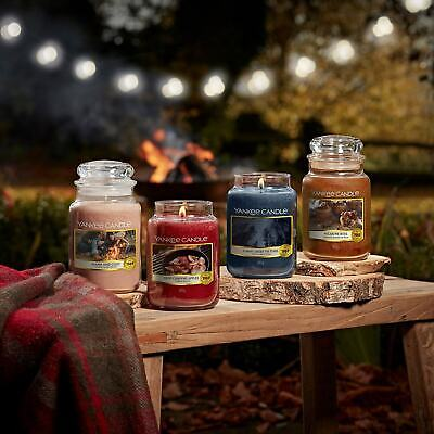 Yankee Candle Large Jar...Choice Of Scents, Plus Free Votive With Every Jar • 18.50£