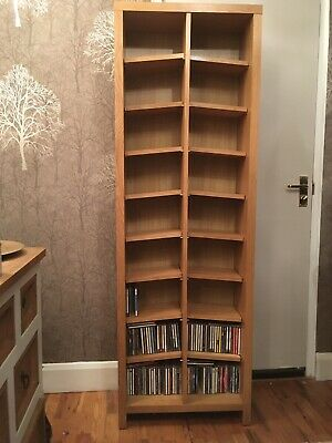 CD Oak Storage Unit (Next) • 20£