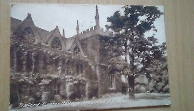 Oxford, Easter College Antique Postcard 1929 Posted F Frith & Co • 1.99£