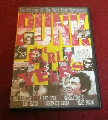 Punk - The Early Years DVD Documentary About The Early Days Of London Punk • 8.58£