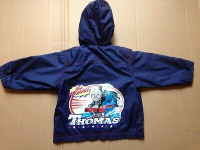 £4 • Buy Thomas The Tank Engine Childs Hooded Water Proof Jacket Age 1 - 2 Years