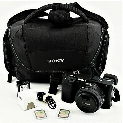 $ CDN764.26 • Buy Sony A6300 24.1MP Mirrorless Digital SLR SEL20F28 Lens In Bag W. Charger