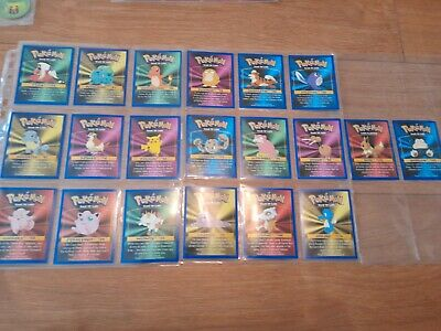 Pokemon Canadian Kelloggs Double Sided 1999 Trading Cards • 1.99£