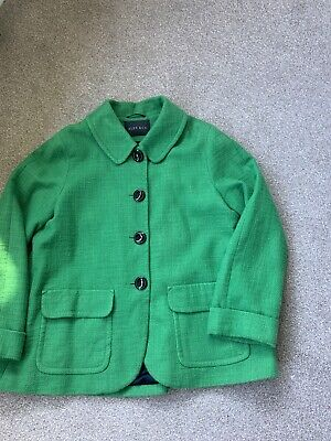Ladies Coat Size 14, Alex And Co Green Coat Jacket Size 14 • 2.70£