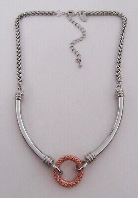 $ CDN0.13 • Buy Lia Sophia Jewelry Rose Gold And Silver Necklace