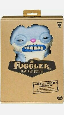$ CDN21.56 • Buy FUGGLER - FUNNY UGLY MONSTER Spin Master DOLL STUFFED PLUSH *NEW* Blue 6044989