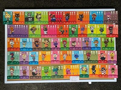 AU4 • Buy Animal Crossing New Horizons Amiibo Cards Official Series 1 2 3 & 4 # 1 - 400