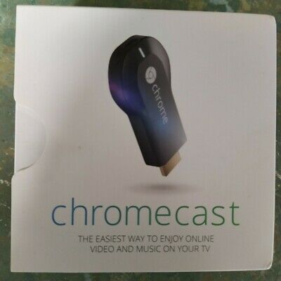 AU24 • Buy Australian 1st Generation Google Chromecast In Original Box With All Accessories