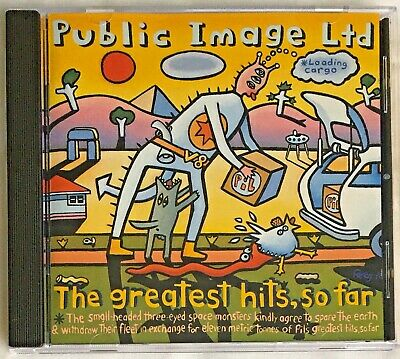 Public Image Ltd - The Greatest Hits, So Far (CD 1990) • 2.99£