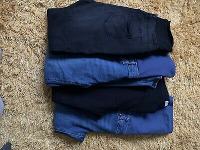 Maternity Jeans Bundle Size 14 • 10.50£