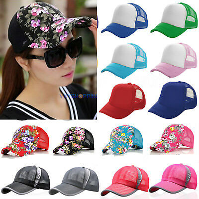 Men Women Golf Sports Baseball Caps Summer Mesh Curved Casual  Breathable Hats • 7.59£