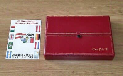 £39.99 • Buy Player's Plaque Medal - COPA PELE '93 / WORLD CUP MASTERS - FIFA / Signed Card