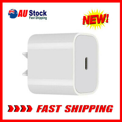 AU14.59 • Buy Fast Wall Charger PD Power Adapter For IPhone 12 Mini 12 Pro Max 20W USB Type C