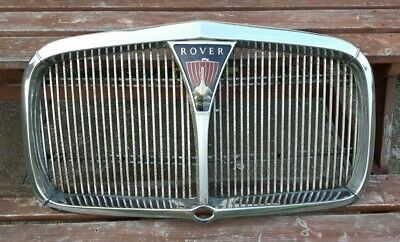 Rover P5 Early Front Grill With Starter Handle Hole • 65£