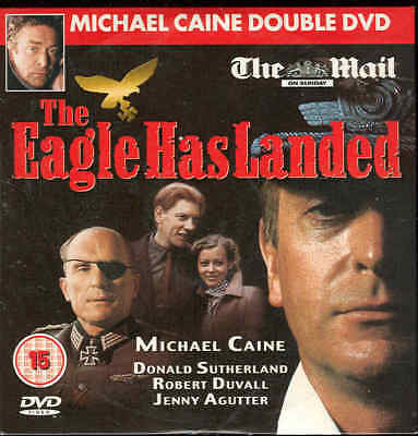 THE EAGLE HAS LANDED - Michael Caine - Great British War Film ******DVD****** • 1£