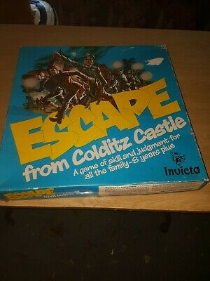 Vintage Escape From Colditz Castle Board Game By Invicta • 20£