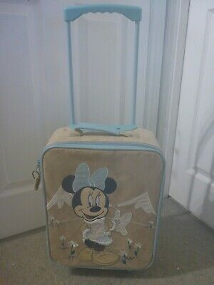 Disney Store Minnie Mouse - Kids Rolling Luggage Wheeled Soft Suitcase  • 29.99£