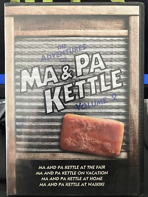 $5 • Buy 📀The Adventures Of Ma And Pa Kettle  Volume 2 (DVD, 2011, 2-Disc) 4 Movies. New