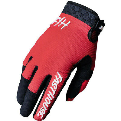 AU49.95 • Buy Fasthouse MX 2021 Speed Style Air Red/Black Gloves
