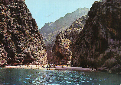 Postcard  Europe  Spain Mallorca   Torrente De Pareys  Posted  • 3£