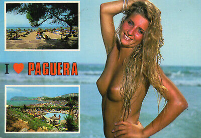 Postcard  Europe  Spain Mallorca   Paguera  Posted  • 3£