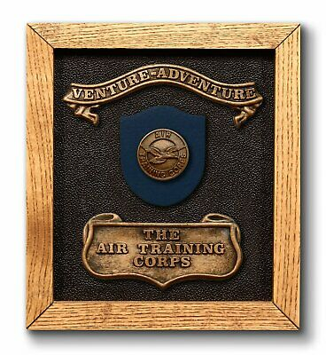 Air Training Corps ATC Cadets Wall Plaque Gift Present Passing Out RAF Squadron • 21.99£