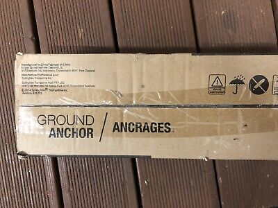 Ground Anchor Ancrages Pair Springfree Trampoline New • 55.99£
