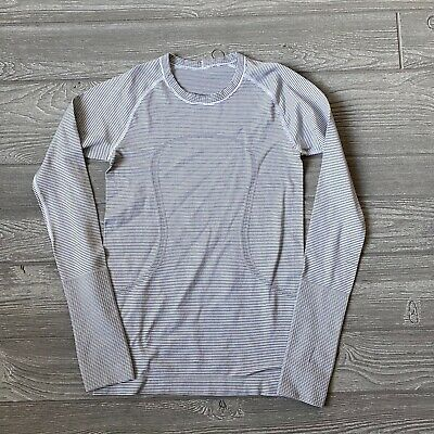$ CDN52.31 • Buy Lululemon Swiftly Long Sleeve Shirt Womens Size 6