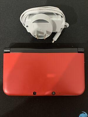 AU139.95 • Buy Nintendo 3DS XL Red And Black - COMPLETE - FREE POST