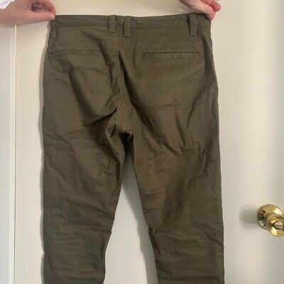 AU15 • Buy MJ Bale Kahki Chino Mens Size 30 Worn Once Excellent Condition