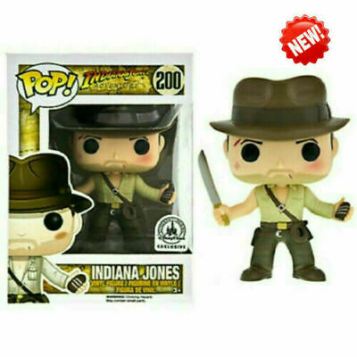 Funko Pop Indiana Jones #200 Action Figures Collection Toys Gift For Children • 13.99£