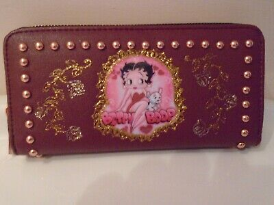 £12.99 • Buy New Red  Betty Boop   Studded  Picture  Purse/wallet.