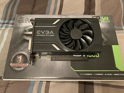 $ CDN202.50 • Buy USED EVGA Geforce Gtx 1060 6 Gb Gddr5 Graphics Card