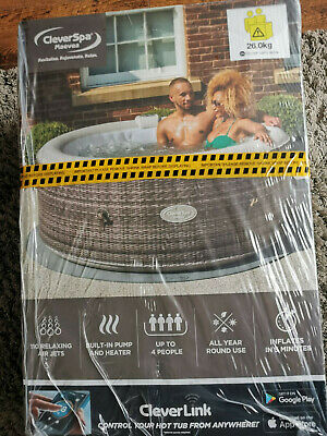 CleverSpa ✅ Maevea 4-6 Person -WIFI ENABLED Hot Tub -All Year Use-72HR DELIVERY • 500£