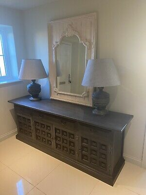 Beautiful Panelled Extra Large Sideboard Annie Sloan Painted • 86£