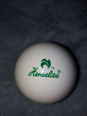 NEW HENSELITE BOWLS JACK, WHITE WITH GREEN PRINT WEIGHS 268grams. • 10.96£