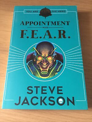 AU7.18 • Buy Fighting Fantasy: Appointment With F.E.A.R., Steve Jackson, New Book