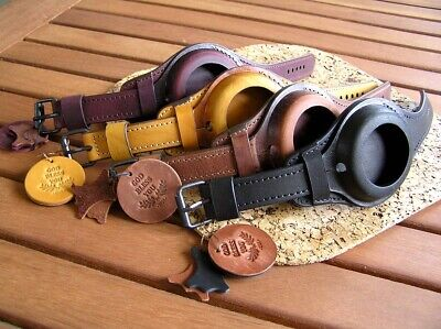 $49 • Buy WW1 TRENCH WRISTSTRAP For MILITARY POCKET WATCH VINTAGE LEATHER BAND CASE 42-45