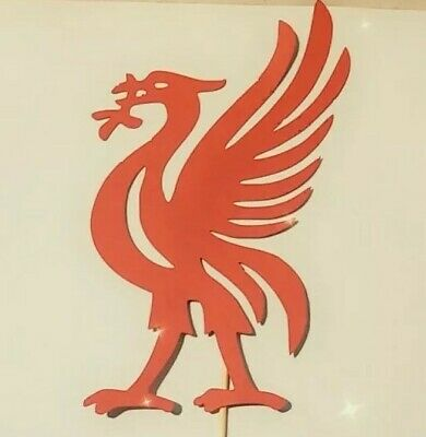 LIVERPOOL LIVER BIRD Cake TOPPER Decoration Red  • 2.99£