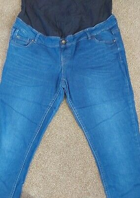 Maternity Jeans Size 16 Over Bump • 1.10£