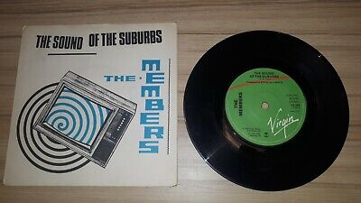 The Members - The Sound Of The Suburbs Original Single 7  Vinyl Record Punk 1979 • 4£