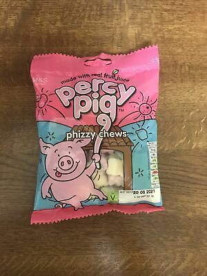 Marks Spencer Percy Pig Gum Phizzy Chews Limited Edition. • 4£