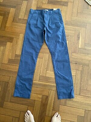AU35 • Buy MJ Bale Chino Chinos Pants- Blue - Size 30 New With Tags