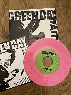 Green Day . Waiting . Pink Marbled Vinyl 7  • 19.99£