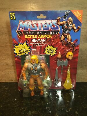 $44.97 • Buy Masters Of The Universe Origins Battle Armor He-man In Hand!