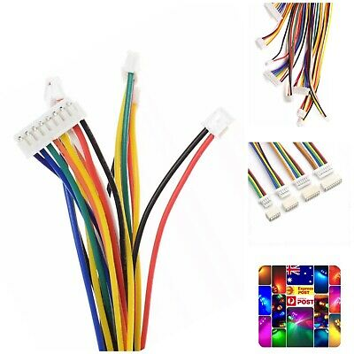 AU11.20 • Buy 10 Sets 1.25mm JST 5 Pin Wired Micro Connector Quadcopter Electronic Drone 20PCS