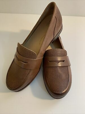 AU65 • Buy Ziera 41 FF Comfort Plus Lennox Loafers Flats Brown Comfort Shoes Orthopedic NZ