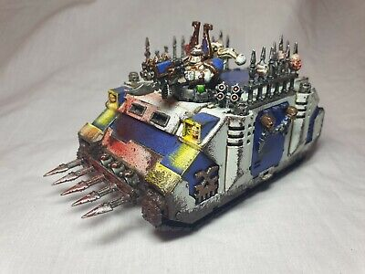 AU58 • Buy L75) Rhino Khorne World Eaters 40k AoS Chaos Marines Warhammer