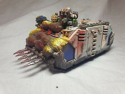 AU58 • Buy L76) Rhino Khorne World Eaters 40k AoS Chaos Marines Warhammer